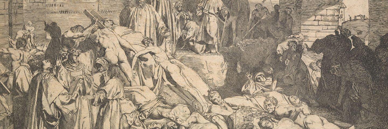 La plaga de Florencia en 1348